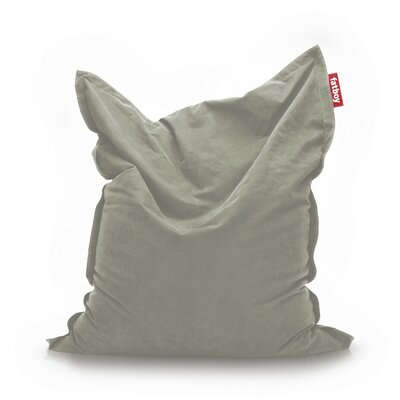 Original Stonewashed Bean Bag Lounger Upholstery: Grey