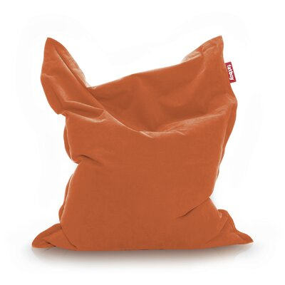 Original Stonewashed Bean Bag Lounger Upholstery: Orange
