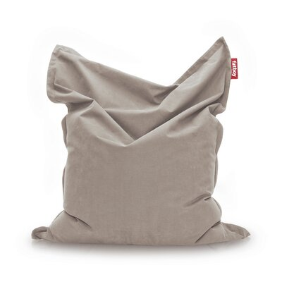 Original Stonewashed Bean Bag Lounger Upholstery: Taupe