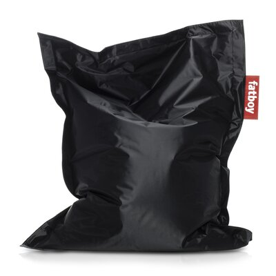 Junior Bean Bag Lounger Upholstery: Black