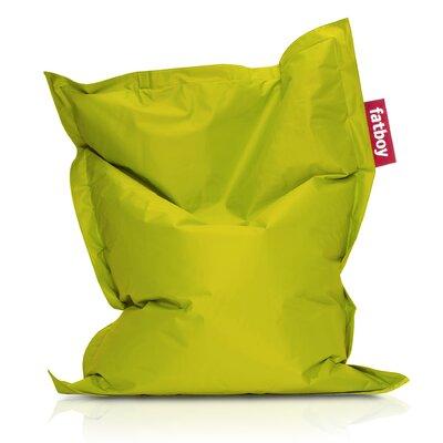 Junior Bean Bag Lounger Upholstery: Lime Green