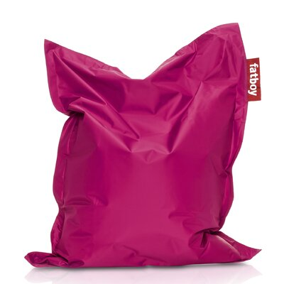 Junior Bean Bag Lounger Upholstery: Pink