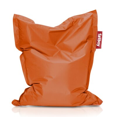 Junior Bean Bag Lounger Upholstery: Orange
