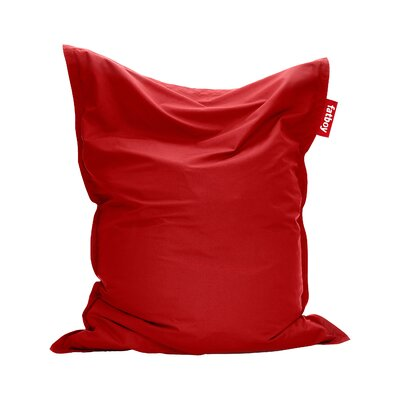 Original Outdoor Bean Bag Lounger Color: Red