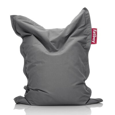Junior Stonewashed Bean Bag Upholstery: Gray