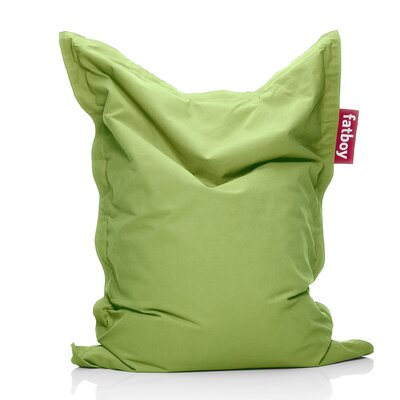 Junior Stonewashed Bean Bag Upholstery: Lime Green