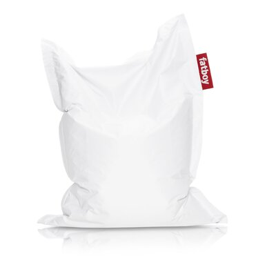 Junior Bean Bag Lounger Upholstery: White
