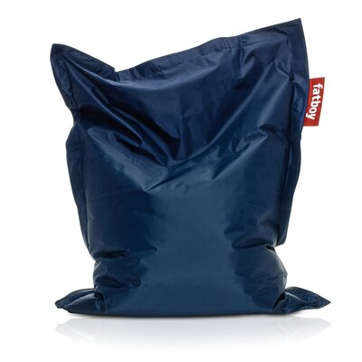 Junior Bean Bag Lounger Upholstery: Blue