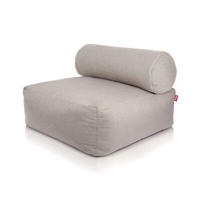 Tsjonge Jong Chaise Lounge Upholstery: Light Grey / Light Grey