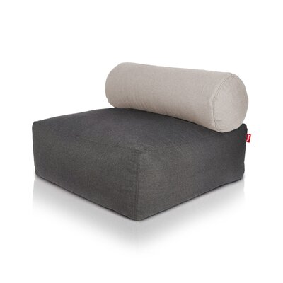 Tsjonge Jong Chaise Lounge Upholstery: Dark Gray / Light Grey