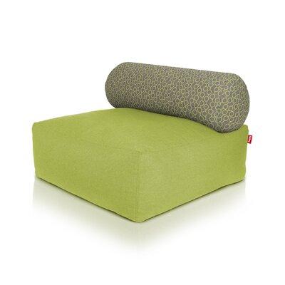 Tsjonge Jong Chaise Lounge Upholstery: Green / Circles Green