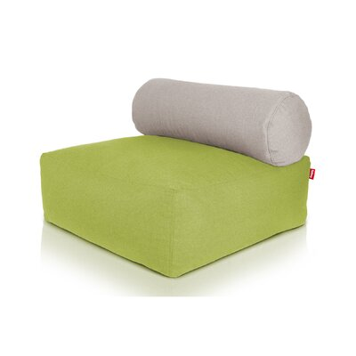 Tsjonge Jong Chaise Lounge Upholstery: Green / Light Grey