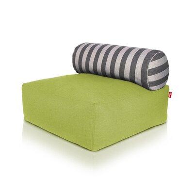 Tsjonge Jong Chaise Lounge Upholstery: Green