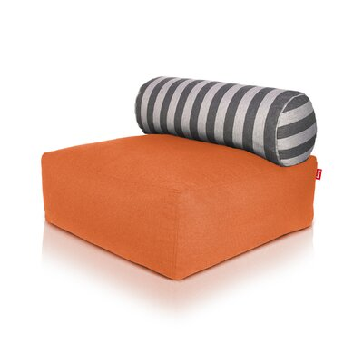Tsjonge Jong Chaise Lounge Upholstery: Orange
