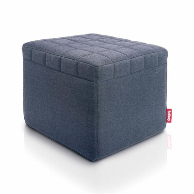Avenue Cube Ottoman Upholstery: Blue