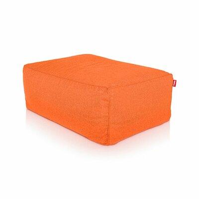 Tsjonge Jong Pouf Upholstery: Orange