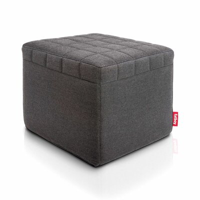 Avenue Ottoman Upholstery: Anthracite
