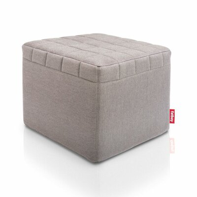 Avenue Ottoman Upholstery: Grey