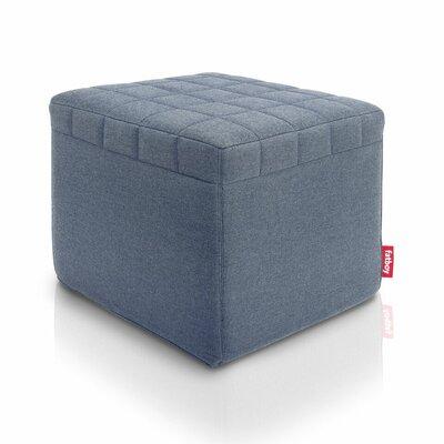 Avenue Ottoman Upholstery: Steel Blue