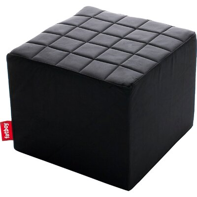 Avenue First Block Ottoman Upholstery: Black