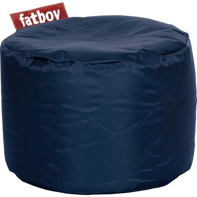 Point Bean Bag Chair Upholstery: Blue
