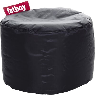 Point Bean Bag Chair Upholstery: Black