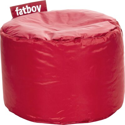 Point Bean Bag Chair Upholstery: Red