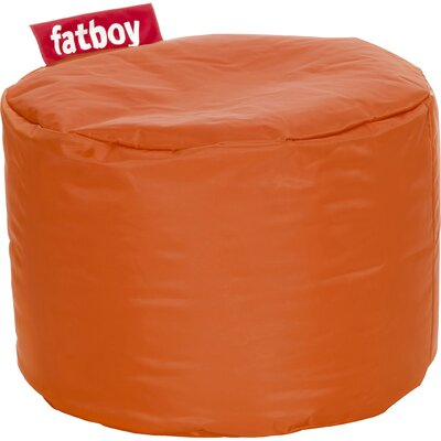 Point Bean Bag Chair Upholstery: Orange