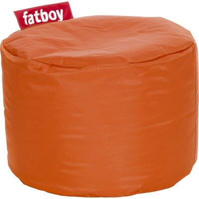 Point Bean Bag Chair Upholstery: Orange
