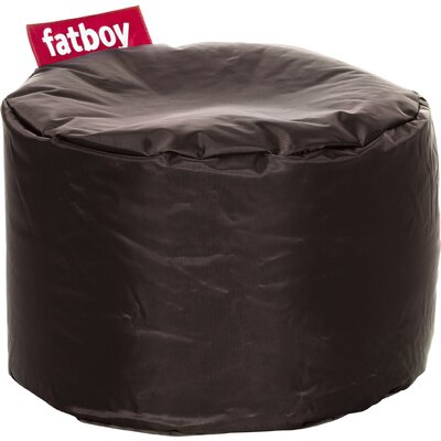 Point Bean Bag Chair Upholstery: Brown