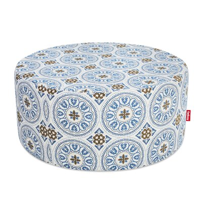 Ottoman with Cushion Finish: Blue