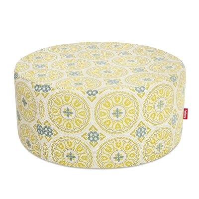 Ottoman with Cushion Finish: Green