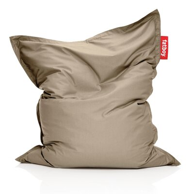 Original Outdoor Bean Bag Lounger Color: Sandy Taupe