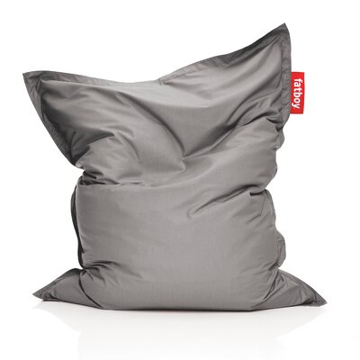 Original Outdoor Bean Bag Lounger Color: Grey