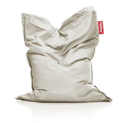 Original Outdoor Bean Bag Lounger Color: Light Grey