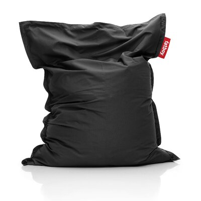 Original Outdoor Bean Bag Lounger Color: Black