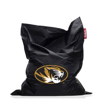 Collegiate Bean Bag Chair NCAA Team: Missouri, Upholstery: Black