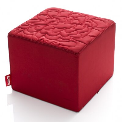 Avenue First Parc Ottoman Upholstery: Red