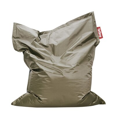 Original Bean Bag Lounger Upholstery: Olive Green