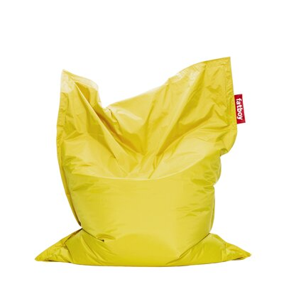 Original Bean Bag Lounger Upholstery: Yellow