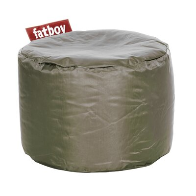 Point Bean Bag Chair Upholstery: Olive Green
