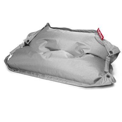 Buggle Up Bean Bag Lounger Upholstery: Light Grey