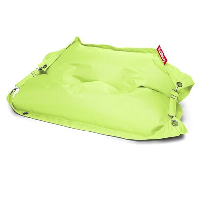 Buggle Up Bean Bag Lounger Upholstery: Lime Green