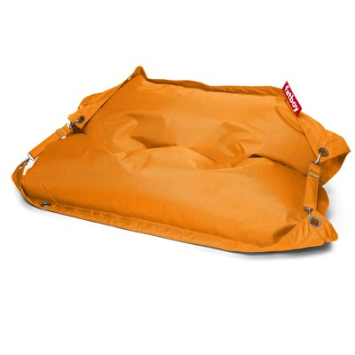 Buggle Up Bean Bag Lounger Upholstery: Orange