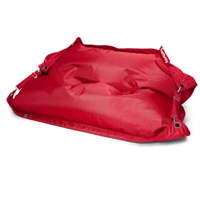 Buggle Up Bean Bag Lounger Upholstery: Red