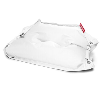 Buggle Up Bean Bag Lounger Upholstery: White