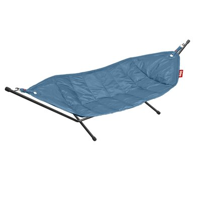 Headdemock Deluxe Polyester Hammock with Stand Color: Petrol