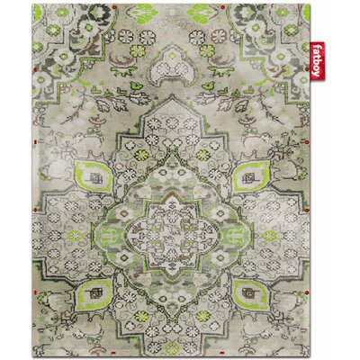 Non-Flying Lime Persian Rug Rug Size: 47 x 510