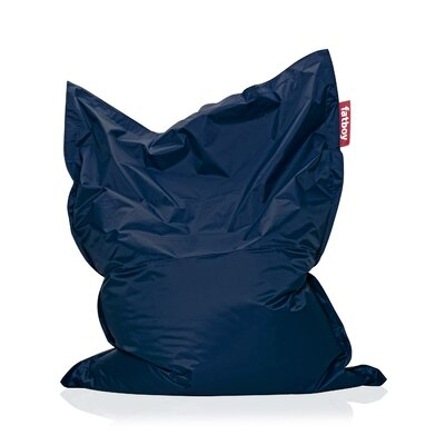 Original Bean Bag Lounger Upholstery: Blue