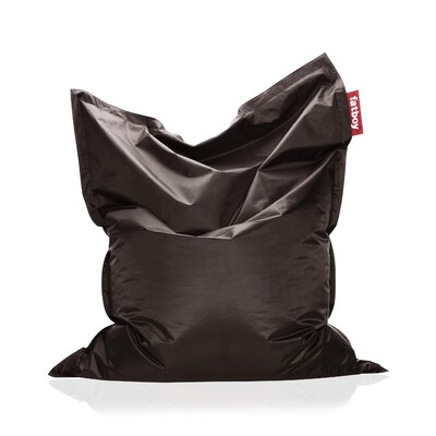 Original Bean Bag Lounger Upholstery: Brown